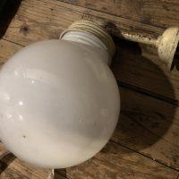 乳白ガラスのランプシェード